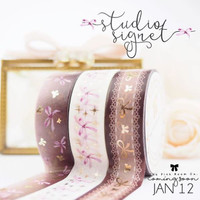 The Pink Room Co -  Studio Signet Washi Collection - Exclusive