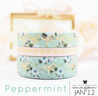 The Pink Room Co -  Peppermint Glitter Washi Collection - Exclusive