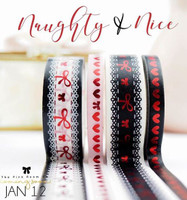 The Pink Room Co - Naughty & Sweet - Washi Collection - Exclusive