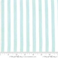 Moda Fabric - Wovens - Bonnie & Camille - Stripe Aqua #12405 11