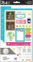Me and My Big Ideas - The Happy Planner - Student - Dashboard Stickers