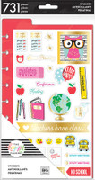 Me and My Big Ideas - The Happy Planner - Teacher - Dashboard Stickers