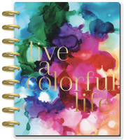 The Happy Planner - Me and My Big Ideas - 2019 - 2020 Classic Deluxe - Jewel Paint (Dated, Dashboard Layout)