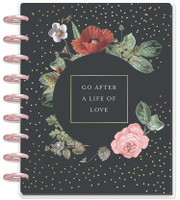 The Happy Planner - Me and My Big Ideas - 2019 - 2020 Classic Deluxe - Vintage Botanical (Dated, Monthly Layout)