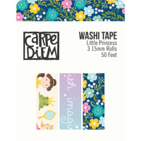 Carpe Diem - Simple Stories - Little Princess Washi Tape - Set of 3