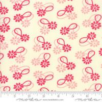 Moda Fabric - Cheeky - Urban Chiks - Rose Sweet Cream Daisy Chain#31141 11