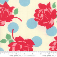 Moda Fabric - Cheeky - Urban Chiks - Blue Raspberry Sweet Cream Swell #31140 11