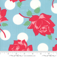 Moda Fabric - Cheeky - Urban Chiks - Blue Raspberry  Swell #31140 14