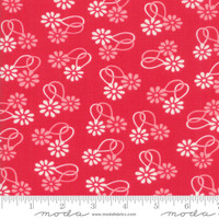 Moda Fabric - Cheeky - Urban Chiks - Rose  Daisy Chain #31141 13