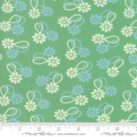 Moda Fabric - Cheeky - Urban Chiks - Stem  Daisy Chain #31141 15