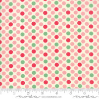 Moda Fabric - Cheeky - Urban Chiks - Petal Sweet Cream Dottie #31142 11