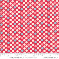 Moda Fabric - Cheeky - Urban Chiks - Rose Dottie #31142 13