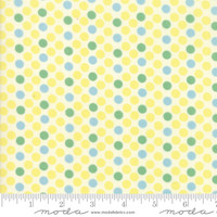 Moda Fabric - Cheeky - Urban Chiks - Buttercup Sweet cream Dottie #31142 21