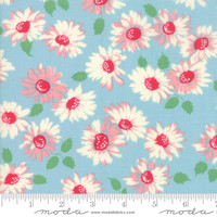Moda Fabric - Cheeky - Urban Chiks - Blue Raspberry  Sassy #31143 14