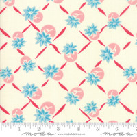 Moda Fabric - Cheeky - Urban Chiks - Blue Raspberry Sweet Cream Giggles #31144 11
