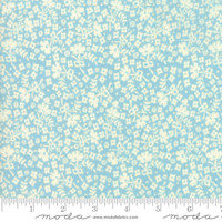 Moda Fabric - Cheeky - Urban Chiks - Blue Raspberry Ditzy #31145  14