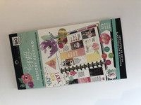 SECOND/DAMAGED - Me and My Big Ideas - The Happy Planner - Sticker Value Packs - BIG - Floral Memories