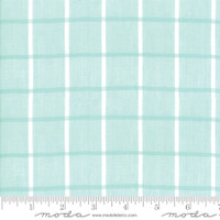 Moda Fabric - Wovens - Bonnie & Camille -  Windowpane Aqua #12405 14