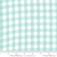 Moda Fabric - Wovens - Bonnie & Camille - Check Aqua #12405 15