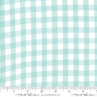 Moda Fabric - Wovens - Bonnie & Camille -  Check Aqua #12405 15