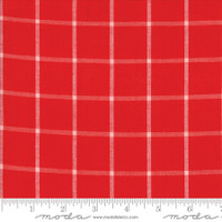 Moda Fabric - Wovens - Bonnie & Camille - Windowpane Red #12405 16