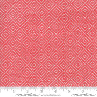 Moda Fabric - Wovens - Bonnie & Camille - Diamond Red #12405 17