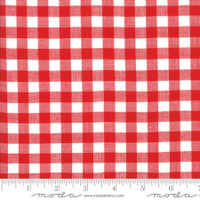 Moda Fabric - Wovens - Bonnie & Camille - Check Red #12405 18