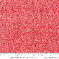 Moda Fabric - Wovens - Bonnie & Camille - Dot Red #12405 19