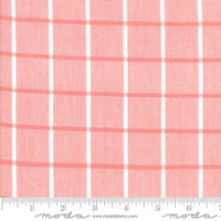 Moda Fabric - Wovens - Bonnie & Camille - Windowpane Pink #12405 21