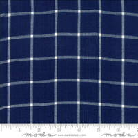 Moda Fabric - Wovens - Bonnie & Camille - Windowpane Navy #12405 32