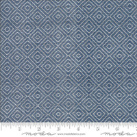 Moda Fabric - Wovens - Bonnie & Camille - Diamond Navy #12405 33