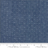 Moda Fabric - Wovens - Bonnie & Camille - Dot Navy #12405 34