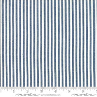 Moda Fabric - Wovens - Bonnie & Camille - Stripe Navy #12405 35