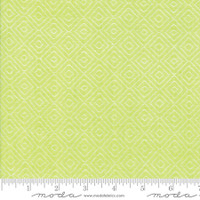 Moda Fabric - Wovens - Bonnie & Camille -  Diamond  Green#12405 38