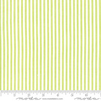 Moda Fabric - Wovens - Bonnie & Camille - Stripe Green #12405 39