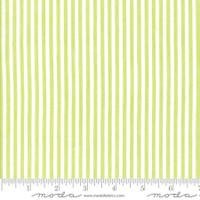 Moda Fabric - Wovens - Bonnie & Camille -  Stripe Green#12405 39