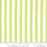 Moda Fabric - Wovens - Bonnie & Camille - Stripe Green#12405 40
