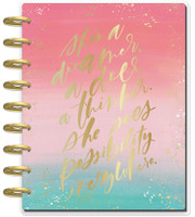 The Happy Planner - Me and My Big Ideas - 2019 - 2020 Happy Planner Classic - Choose to Shine (Dated, Monthly Layout)