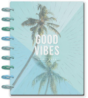 The Happy Planner - Me and My Big Ideas - 2019 - 2020 Happy Planner Classic - Coastal Vibes (Dated, Horizontal)
