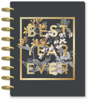 The Happy Planner - Me and My Big Ideas - 2019 - 2020 Happy Planner Classic - Vintage Botanical (Dated, Monthly Layout)