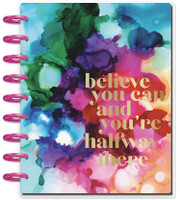 The Happy Planner - Me and My Big Ideas - 2019 - 2020 Happy Planner Classic - Blue Paint Splash (Dated, Dashboard Layout)