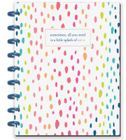 The Happy Planner - Me and My Big Ideas - Happy Notes - A Little Splash Of Color - Classic (Dot Grid)
