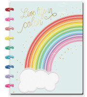 The Happy Planner - Me and My Big Ideas - Happy Notes - Live Life In Color - Classic (Lined)