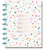 Happy Planner - Me and My Big Ideas - Classic Happy Notes - Kindness Is Free (Dot Grid)