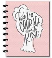 The Happy Planner - Me and My Big Ideas - Classic Happy Notes - Have Courage (Sketch - Blank)