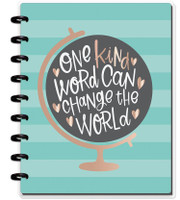 Happy Planner - Me and My Big Ideas - Classic Happy Notes - One Kind World (Dot Grid)