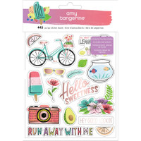 American Crafts - Amy Tangerine - Sticker Book - Stay Sweet