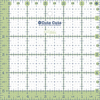 Lori Holt - Cute Cut Ruler - Square 5-1/2in x 5-1/2in