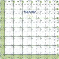Lori Holt - Cute Cut Ruler - Square  6-1/2in x 6-1/2in