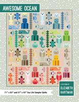 Awesome Ocean - Quilt Pattern - Elizabeth Hartman